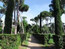 Villa Borghese - Villa Celimontana - Villa Pamphilj