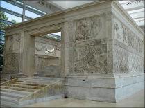 Ara Pacis Roma Augusto pace Lungotevere Augustea visita