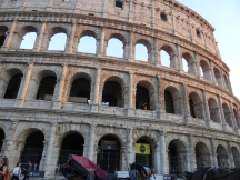 Rome tour pre post cruise Trevi fountain Colosseum Pantheon Forum sightseeing car and driver