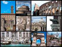 One day in Rome Colosseum Pantheon vatican Trevi fountain Spanish Steps