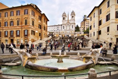 Spanish Steps Rome Trinità dei Monti